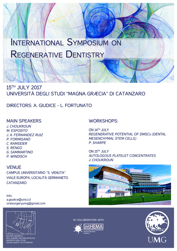 International Symposium on Regenerative Dentistry